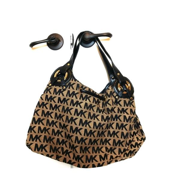 Michael Kors Handbags - Michael Kors Black and Gray Bag